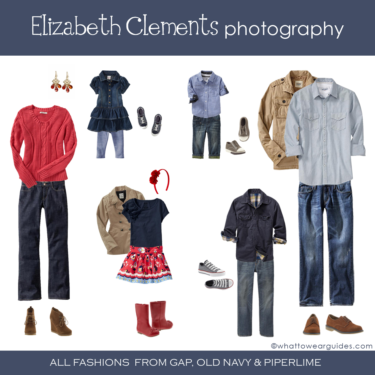 Winter family outfit ideas » Elizabeth Clements Photography
